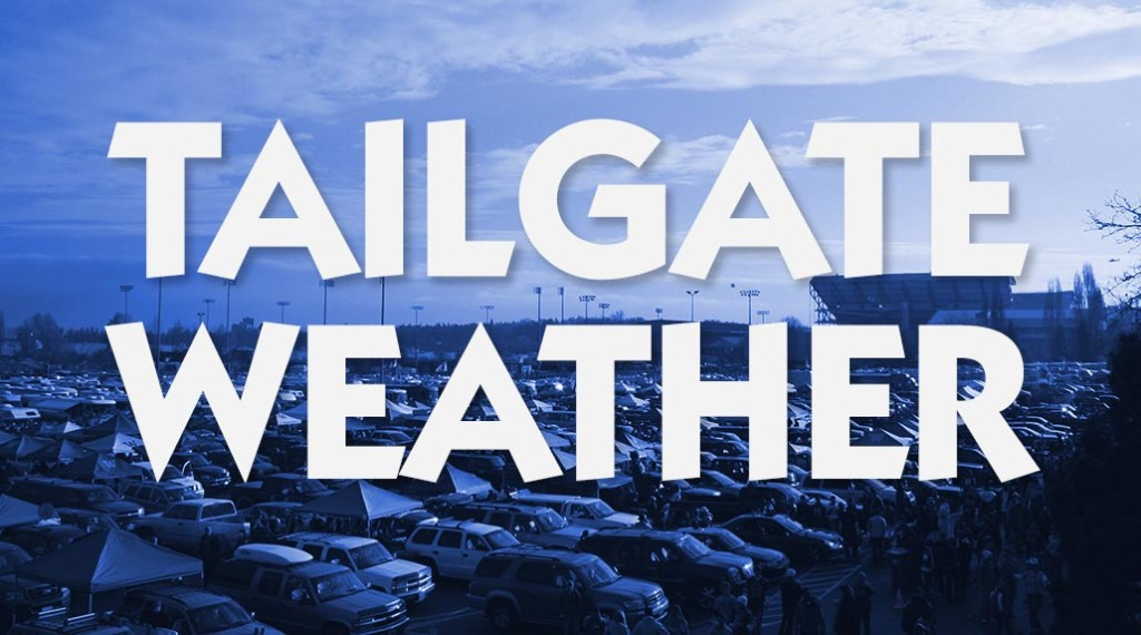 Tailgate Weather Forecast for Saturday, September 19