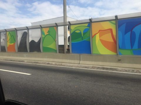 rio wall, rio di janeiro, olympics, brazil