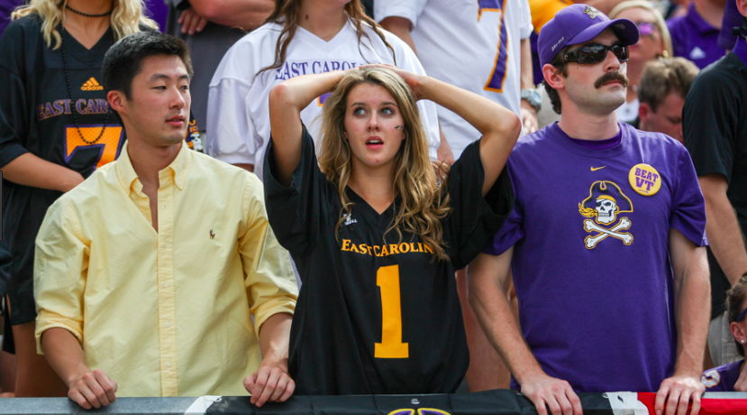 Espn Ranks Nc College Football Fans By Happiness Sports Channel 8