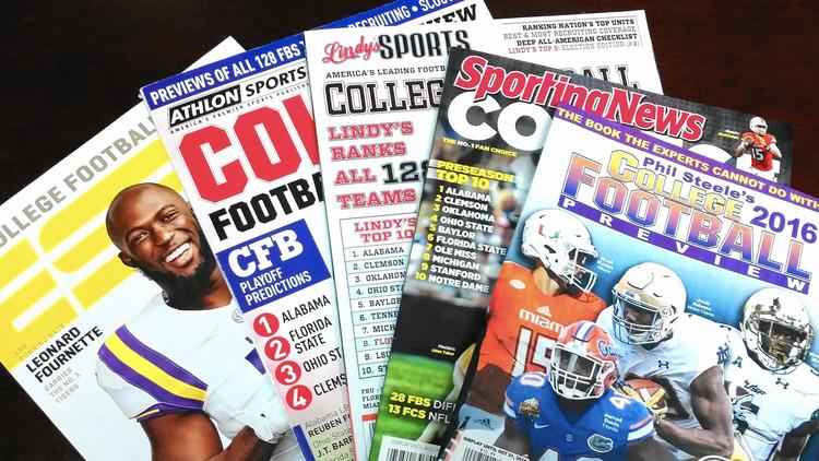 Which College Football Summer Preview Magazine Is the Best? | Sports