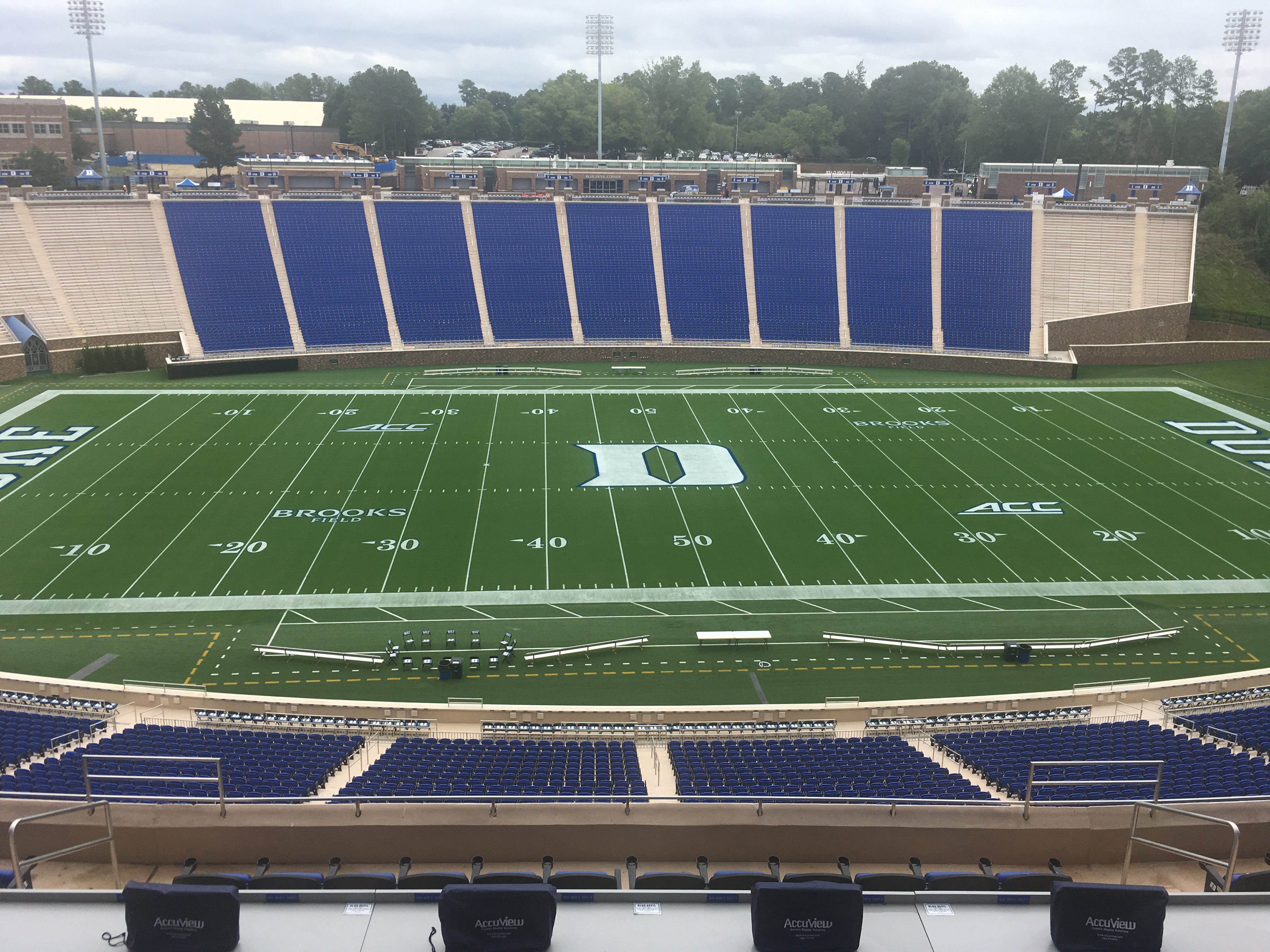 """Sugar Bowl Rose Bowl >> Wallace Wade renovations complete, """"boutique"""" stadium ready to shine 