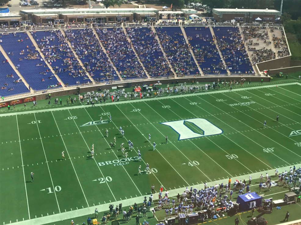 Duke Football Attendance Resurfaces As A Hot Topic Sports Channel 8