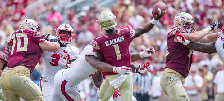 Pack Chews Up And Spits Out 'Noles
