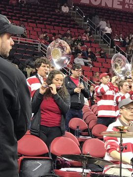NC State Pep Band's Lonely Piccolo